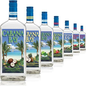 Cabana Bay Pineapple Coconut Rum
