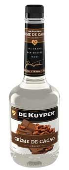 DeKuyper Creme De Cacao-White
