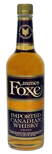 James Foxe Canadian Whiskey