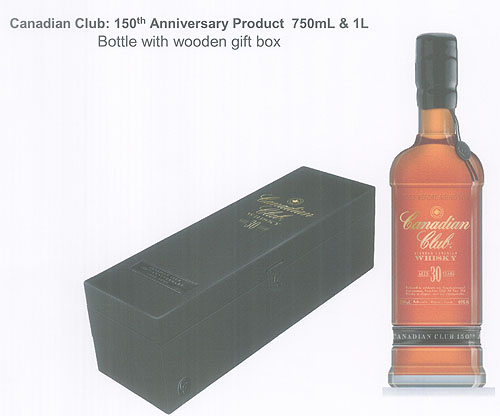 Canadian Club 150th Anniversary