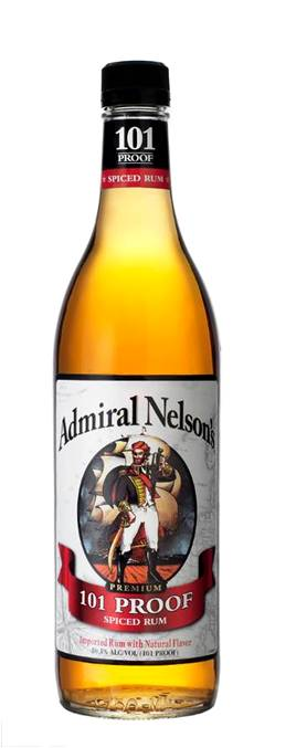 Admiral Nelson's Spiced 101