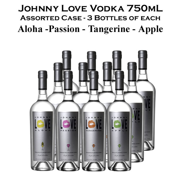 Johnny Love Vodka Assorted Pack