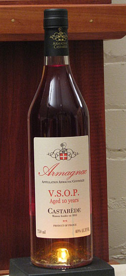 Castarede Armagnac VSOP 10Y