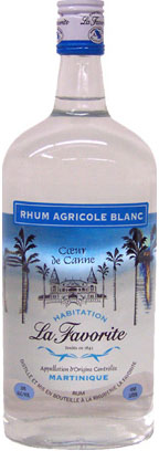 La Favorite Rhum Agricole Blanc