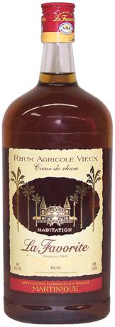 La Favorite Rhum Agricole Vieux