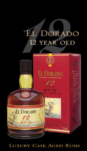 EL Dorado Superior 12Y Old  Rum