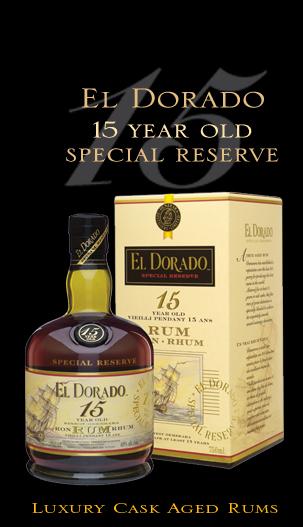 EL Dorado Special Reserve 15Y Old Rum