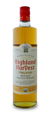 Highland Harvest Organic Scotch Whiskey