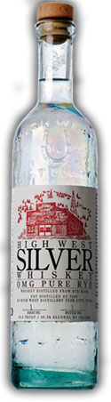 High West Silver Whiskey OMG Pure Rye