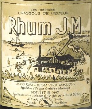Rhum J.M 15 Yr Aged Vintage 1994