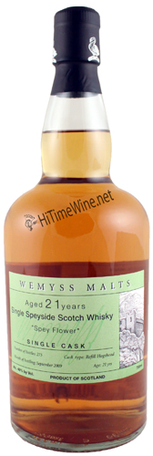 "Wemyss ""Spey Flower"" 21Yr Single Speyside Cask"