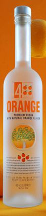4 Orange Flavored Vodka